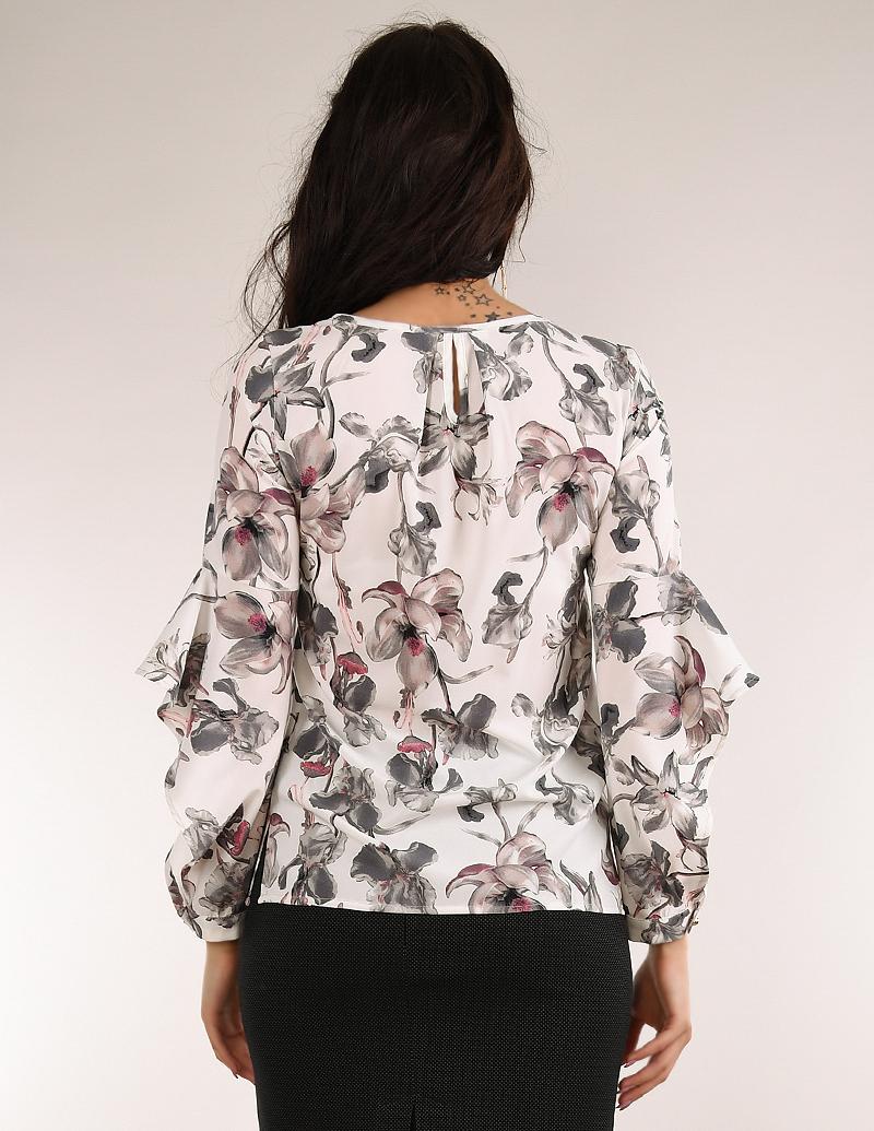 Риза Орхидея бяла