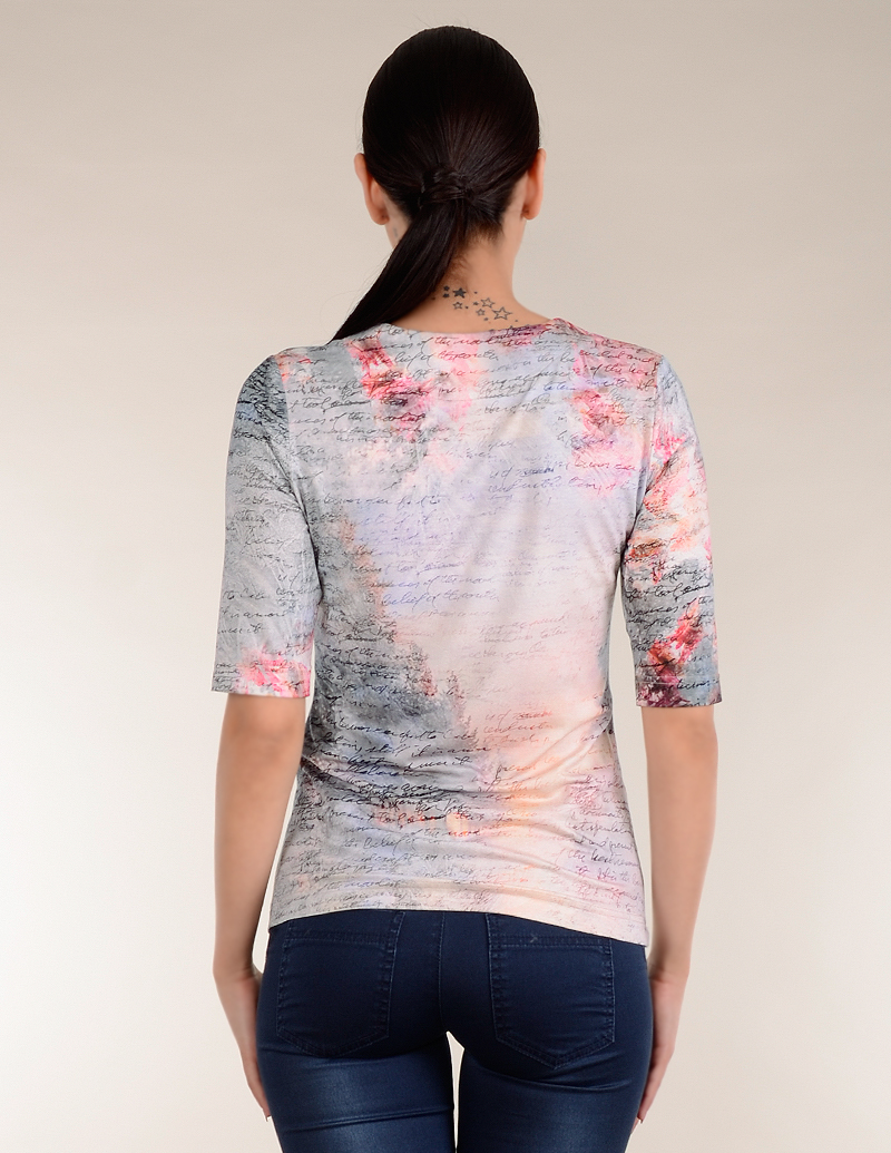 Блуза Надписи